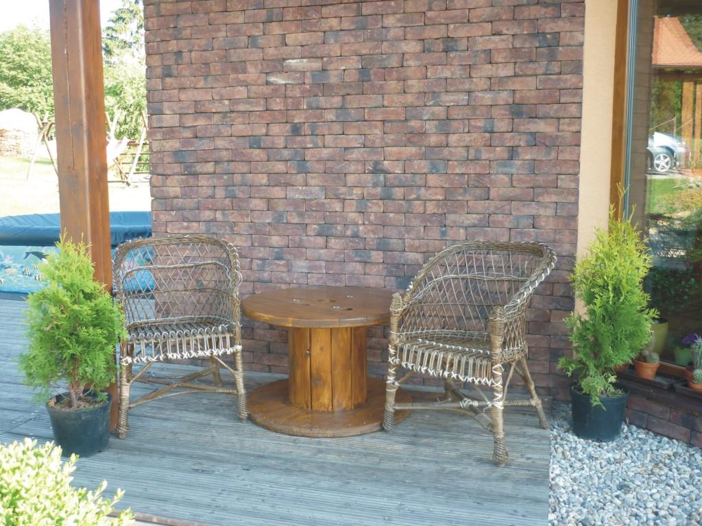 Dekoratívne drevené bubny, stoly z cievok do bytu aj na záhradu