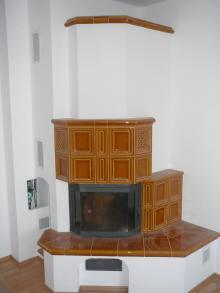 Kamnářství Třebíč-pokojová kachlová kamna na zakázku