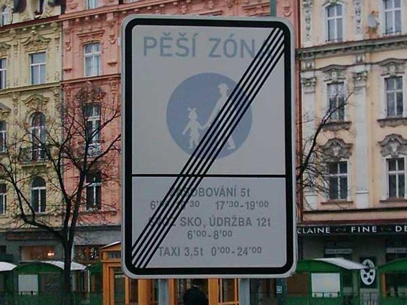 Dopravní značení včetně příslušenství Karlovy Vary - typ L i LA
