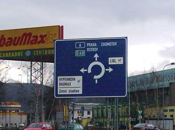 Výroba dopravních značek Karlovy Vary