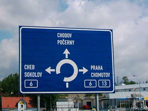 Prodej dopravních značek Karlovy Vary