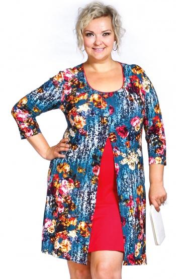 d5fb6aa71407 Nadrozměrná dámská móda-jarní katalog XXL oblečení