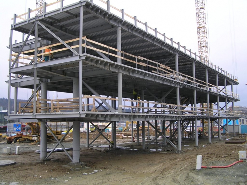 Projektování, výroba a montáž ocelových konstrukcí Teplice