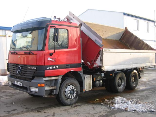 doprava sypkých materiálů Prostějov