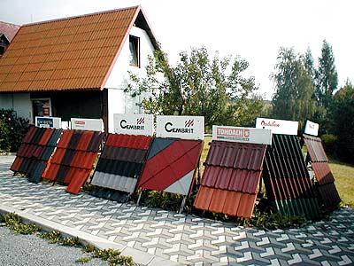 Kvalitní střešní materiál, krytiny, žlaby, parozábrany Olomouc, Šumperk