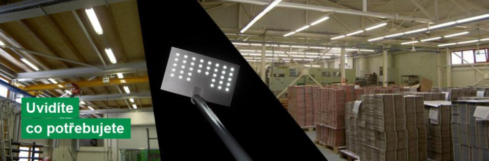 Výrobní a skladovací prostory-osvětlení Pelhřimov