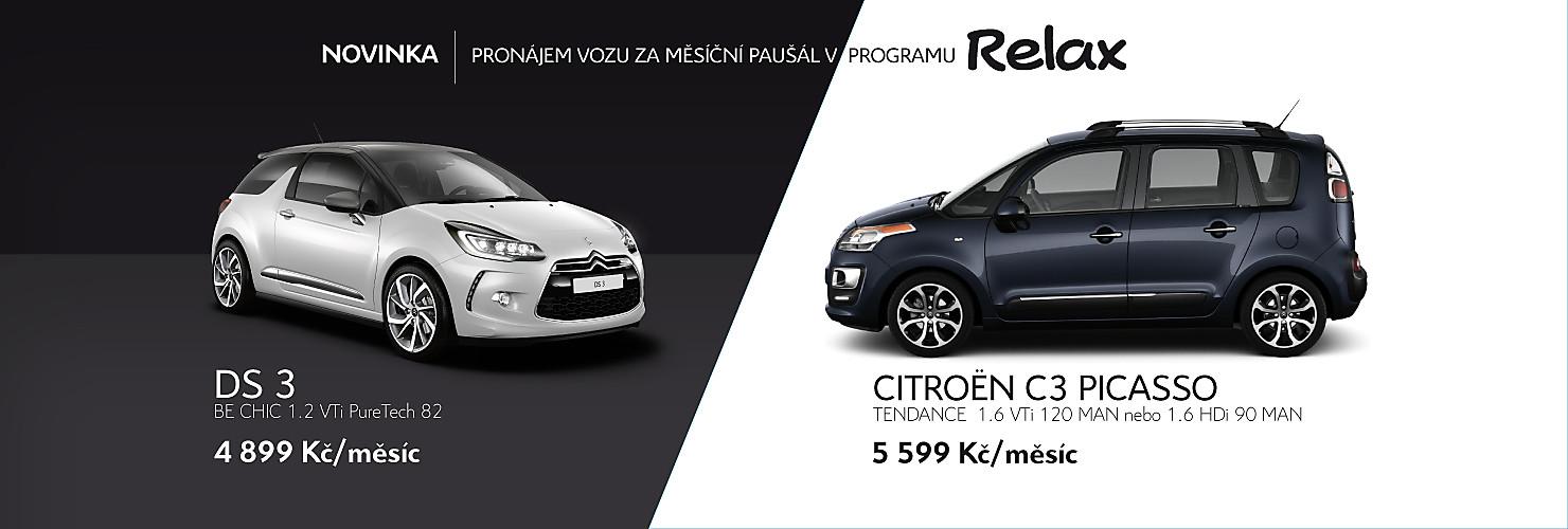 Pojištění a leasing vozidel značky Citroën Praha