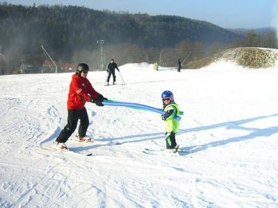 Ski areál Hlubočky - lyžařská škola, lyžařské, snowboardingové kurzy