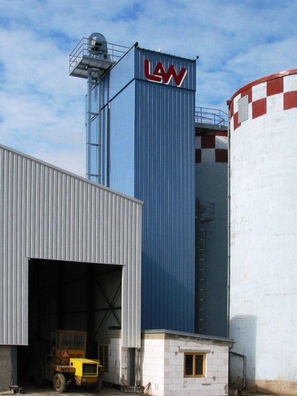 Sušička obilí, zrnin a kukuřice-kontinuální sušárny Zlínský kraj