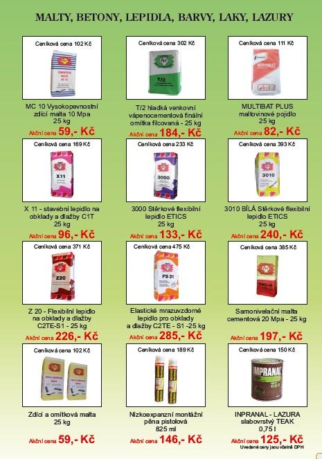 Akční ceny barev, levné barvy na malování, Jablonec nad Nisou, Liberec