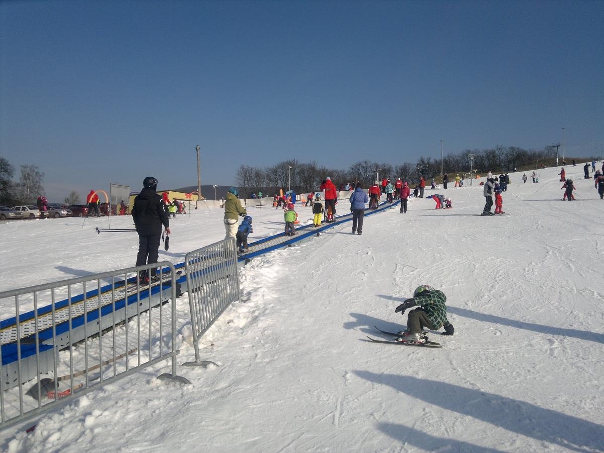 Snowboarding nejen pro rodiny s dětmi Hlubočky