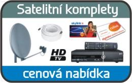 Prodej, profesionální montáž satelitu a satelitního kompletu Šumperk