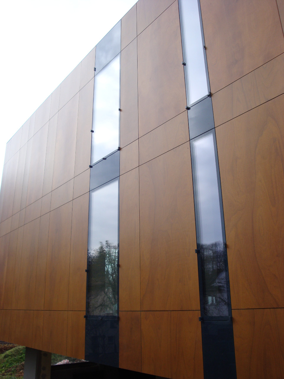 prosklené strukturální fasády Brno