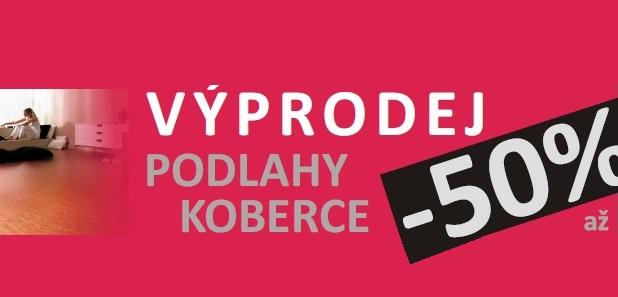 Výprodej kvalitní koberce, podlahy a podlahové krytiny Olomouc