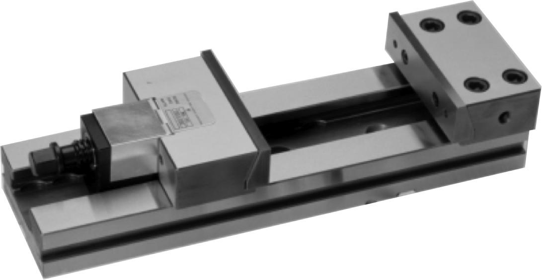Přesné modulární strojní svěráky