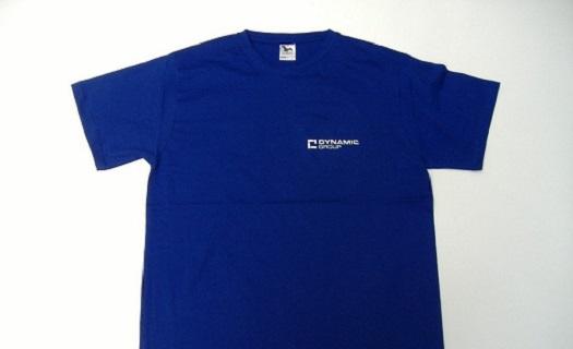 Potisk pracovních oděvů, triček a textilu včetně grafického návrhu