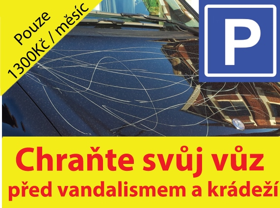 Parkoviště Brno-levné parkování, pronájem parkovacího místa