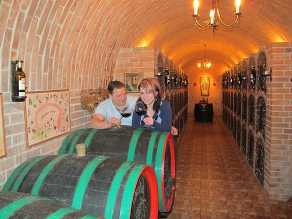 Vinný sklípek v Mikulově