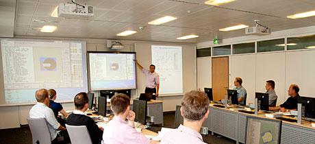 Školení obsluhy a programování řídicího systému