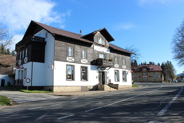 prodej hotelu v Harrachově