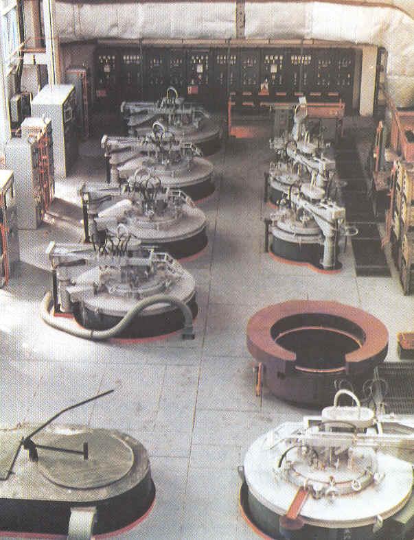 Elektrické pece šachtové s oběhovou vložkou a nuceným oběhem vzduchu