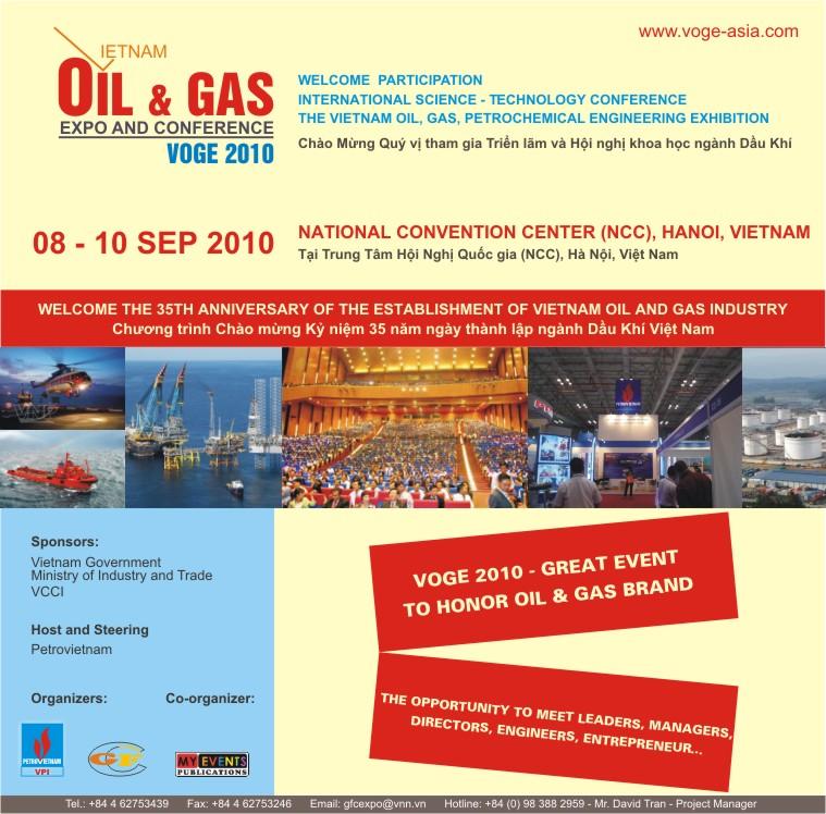 VIETNAM; Konferenz - Petrochemie, Erdöl-, Gasingenieurwesen