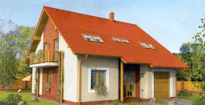 Projekty rodinných domů ze dřeva