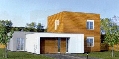 Projekty dřevostaveb Zlín