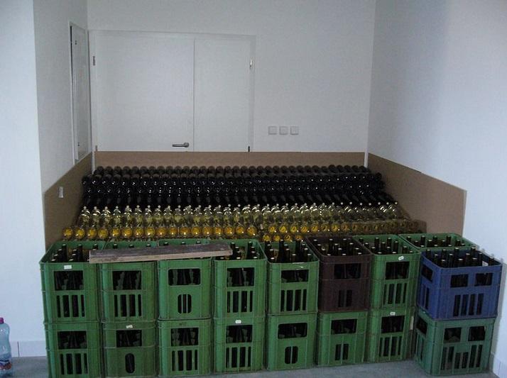 Lahvování vína je nezbytný krok