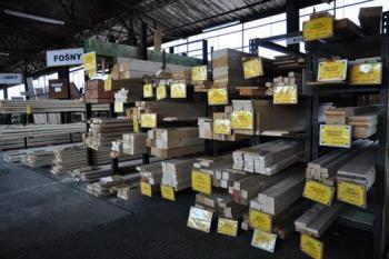 E-shop stavební dřevo, dřevařský materiál