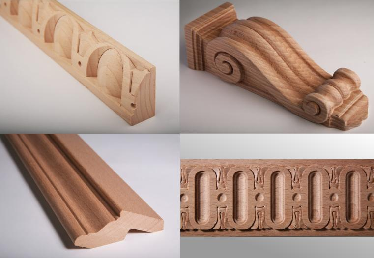 Řezby z masivního dřeva