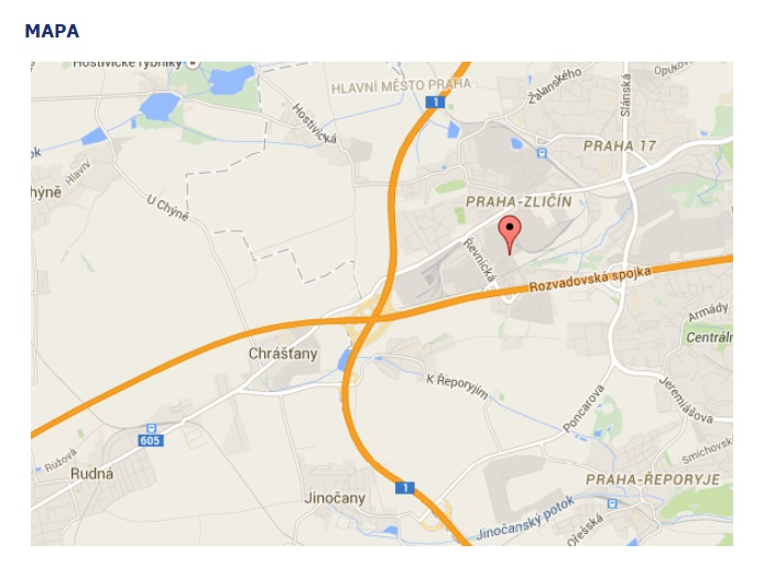 Najdete nás v Praze