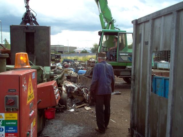 Výkup a sběr druhotných surovin Chomutov
