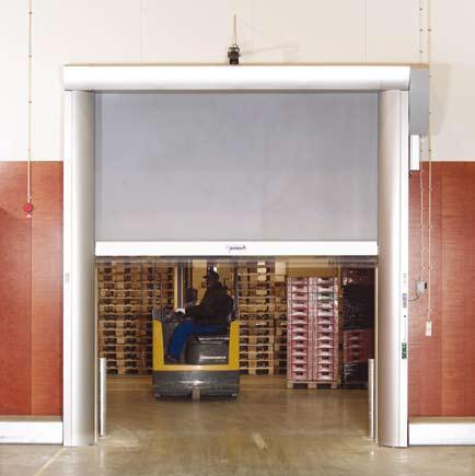 RR600, etrémně pevná vratová stěna RollTex®