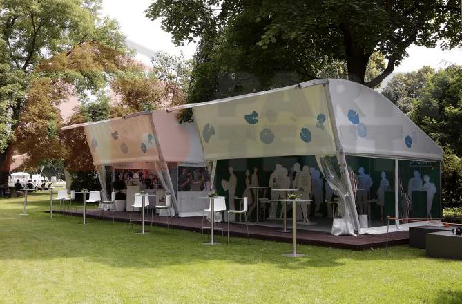 Pronájem stanů pro společenské akce Praha