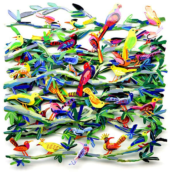 Prodej nástěnných dekorací a malých uměleckých děl Davida Gersteina Praha