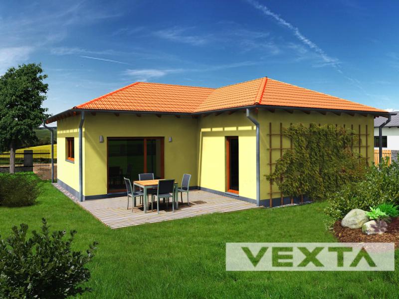 Dřevostavba přízemní dům VEXTA