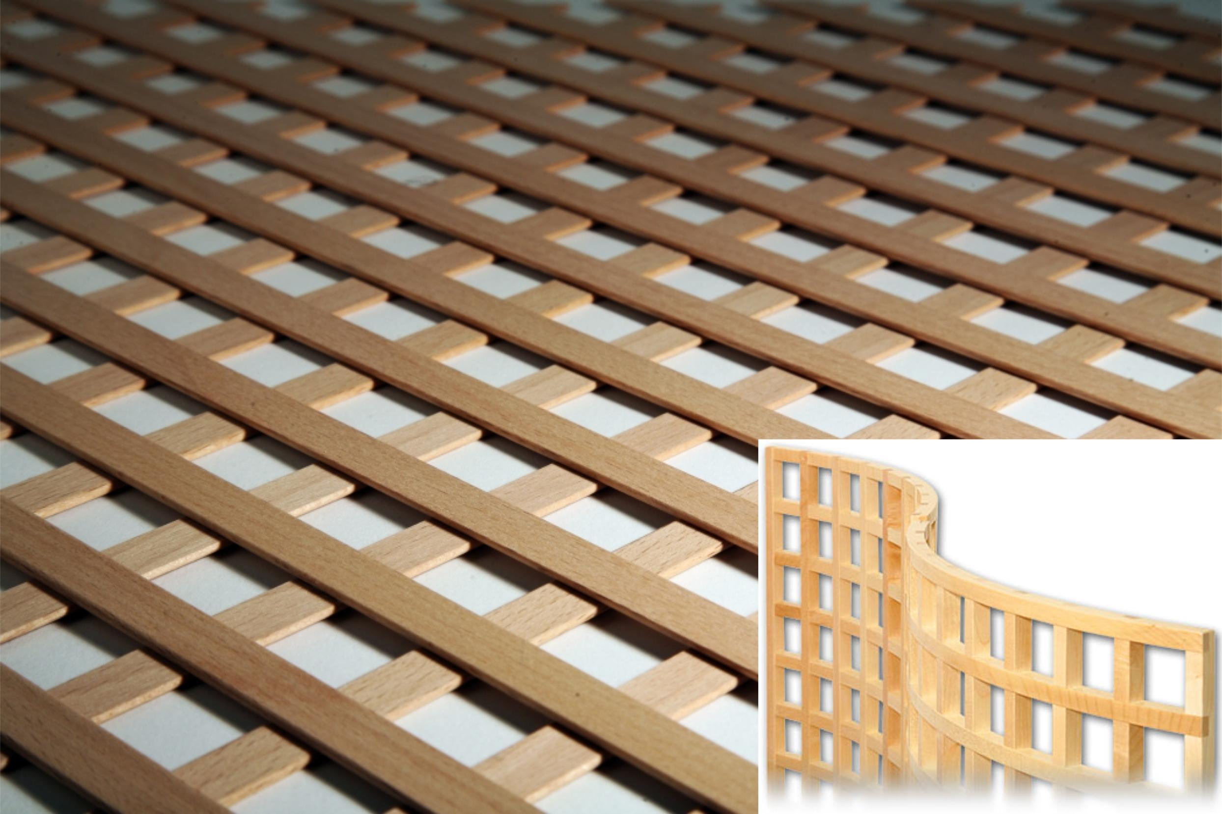 Dřevěné mřížky
