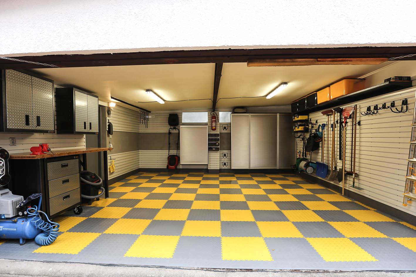 Úložný systém do garáže