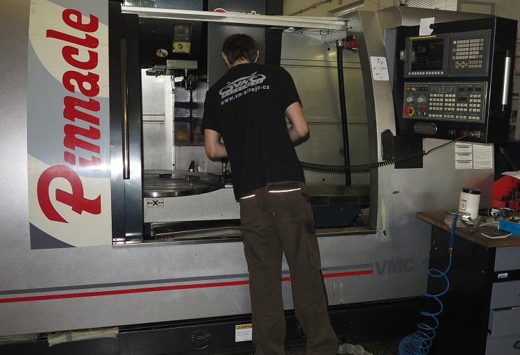 CNC frézování Židlochovice