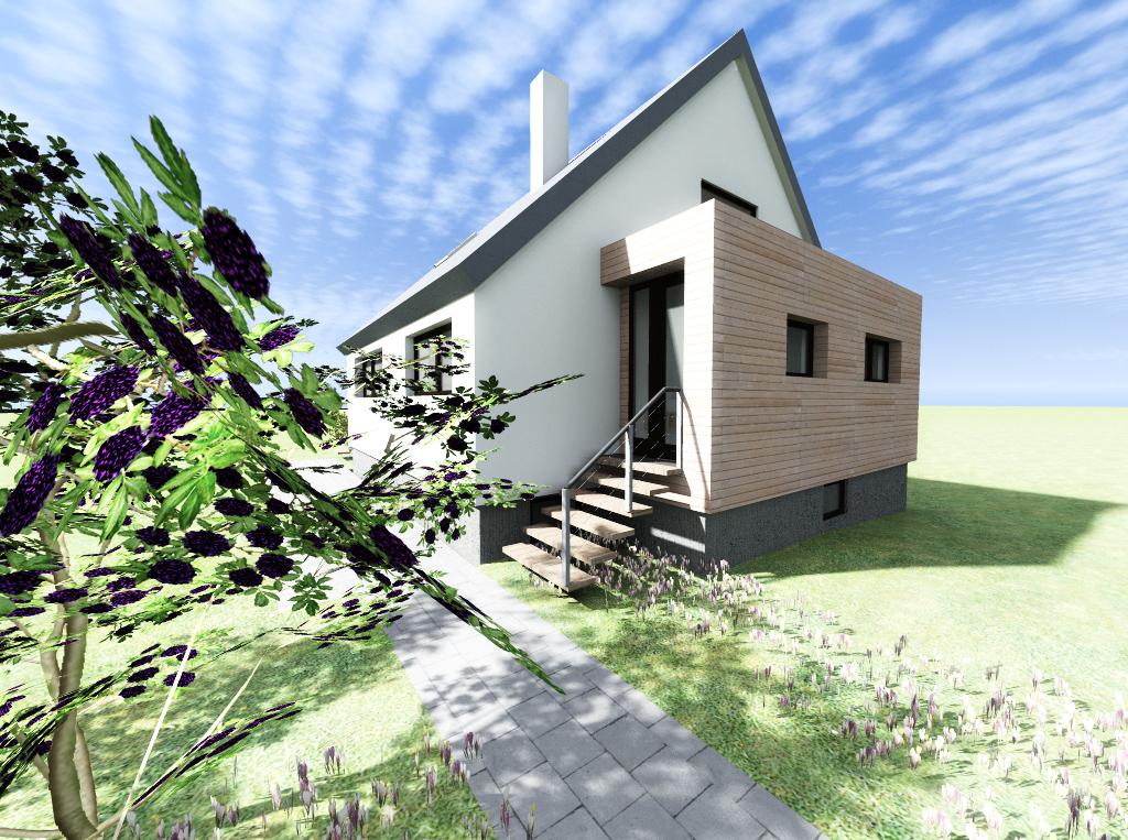 Rekonstrukce rodinného domu - návrh