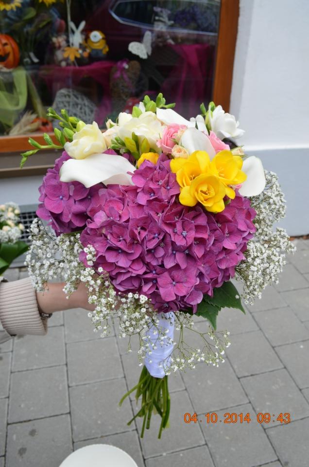 Svatební kytice Kroměříž