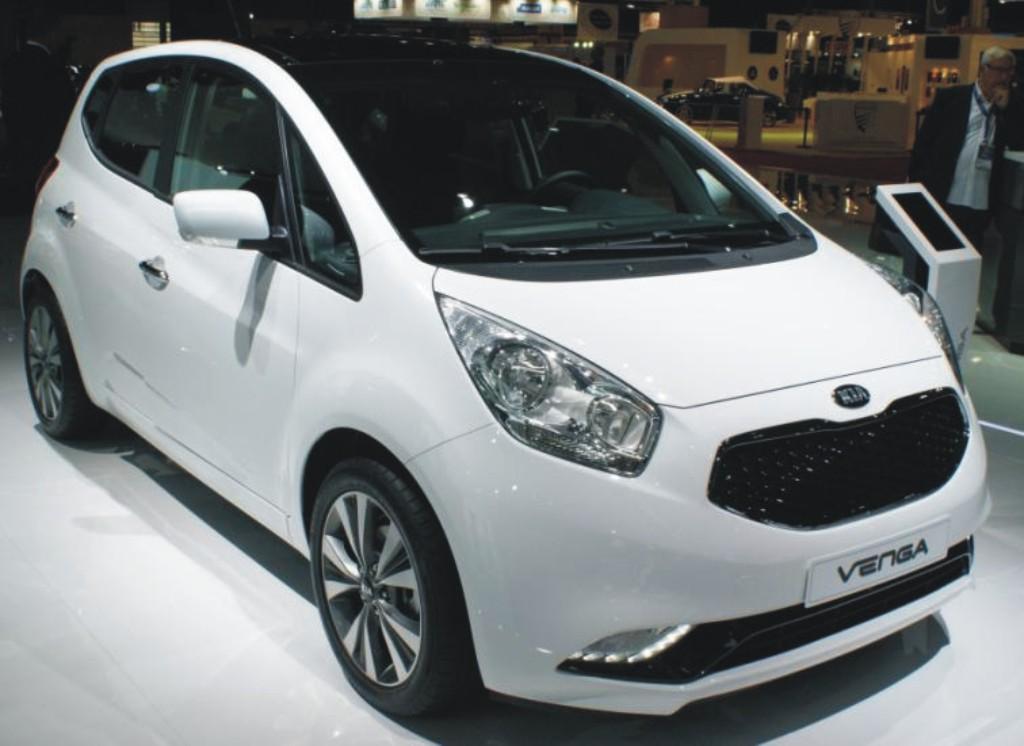 Všestranný, moderní a dynamický vůz Kia Venga