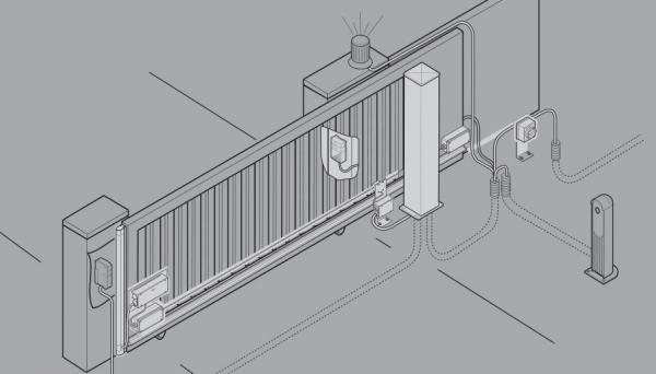 Antriebe für Garagentore, Industrietore, Schiebetore Kremsier, die Tschechische Republik