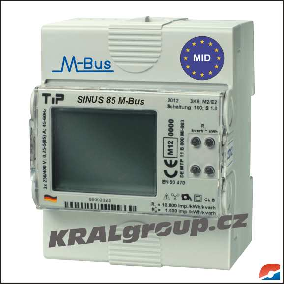 SINUS 85 M-Bus MID - NOVINKA