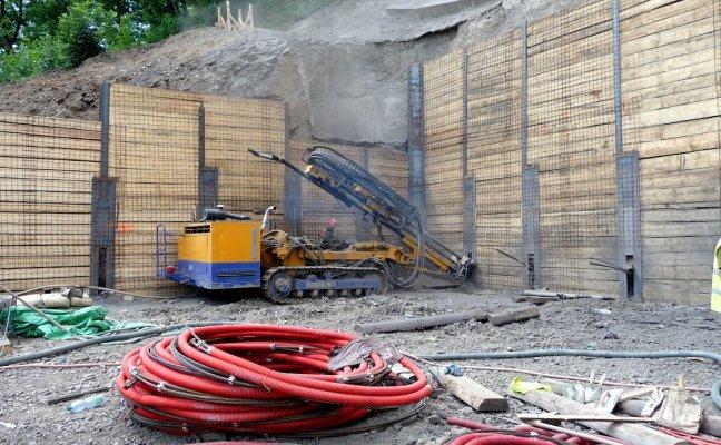 Odborné použití horninových kotev Praha