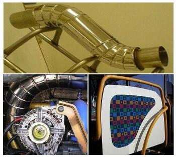 Ohýbání trubek a profilů - tváření kovů a svařování