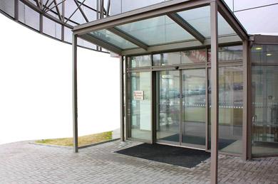 Automatické posuvné, otočné dveře Praha