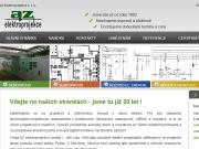 Webová stránka AZ Elektroprojekce s.r.o