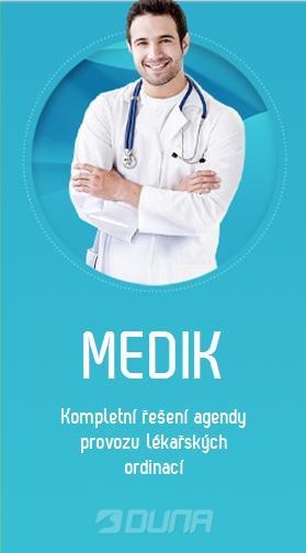 Kompletní řešení agendy provozu lékařských ordinací